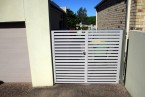 Aluminium Privacy Side Gates - Carrara - Gold Coast Image