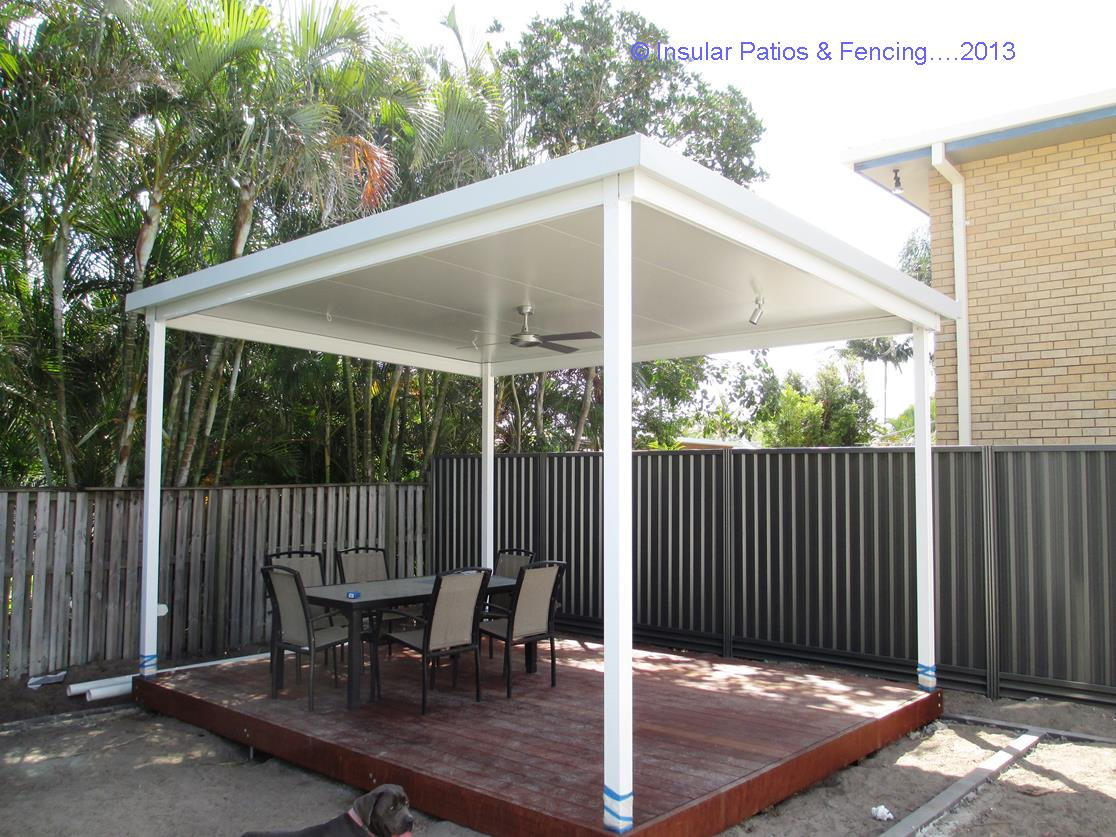 Free standing patios insular patios fencing for Freestanding patio cover