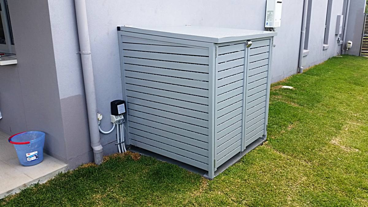 Pool Pump And Filter System Cover